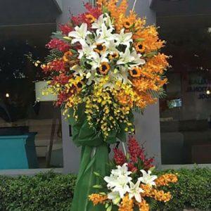 congratulations standing flower 32