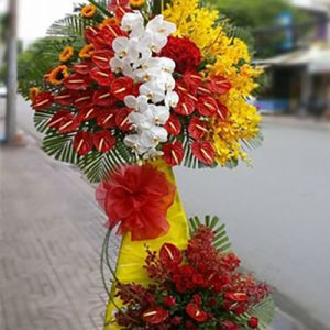 congratulations standing flower 33