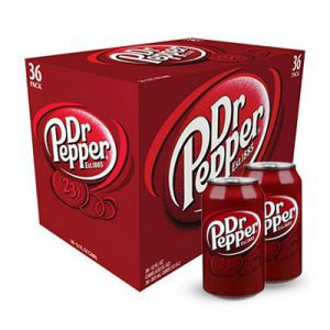 dr pepper 36 pack