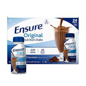 ensure original chocolate 24bottles