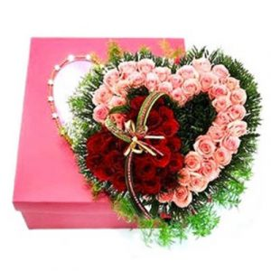heart box flower