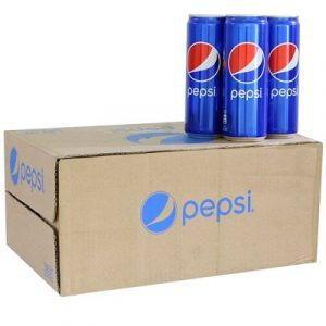 pepsi soft drink 24 bottles carton