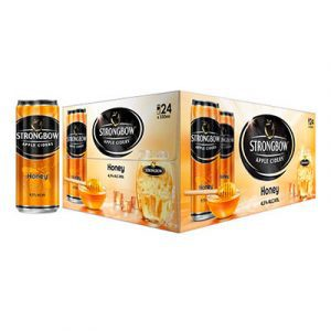 strongbow apple ciders honey cans