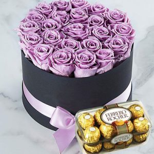 chocolate waxed roses 04