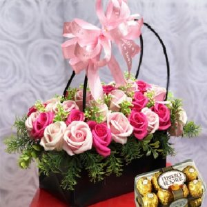 chocolate waxed roses 06