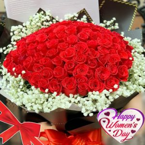 special flowers for women day 09