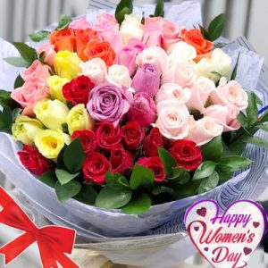special flowers for women day 11