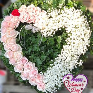 special flowers for women day 12