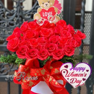 special flowers for women day 17