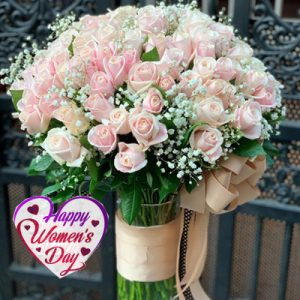 special flowers for women day 18