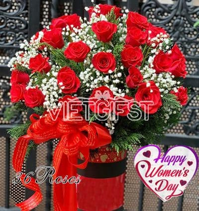 special flowers for women day 19