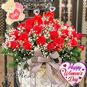 special flowers for women day 20