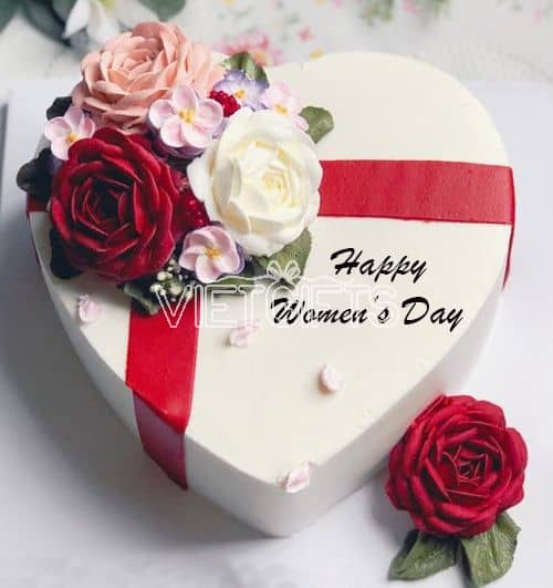 Superb Cakes Women Day 2 Send Cakes To Vietnam Delivery Cake In Vietnam Funny Birthday Cards Online Fluifree Goldxyz