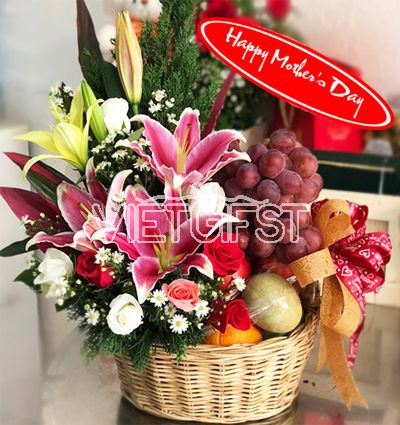 mothers day fresh basket 12
