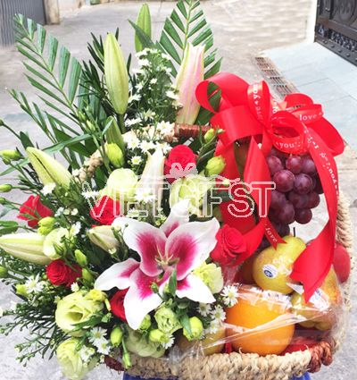 mothers day fresh basket 7