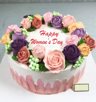 Astounding Vn Womens Day Cake 8 Send Flowers And Cakes To Vietnam Funny Birthday Cards Online Alyptdamsfinfo