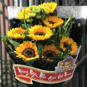 Vietnamese Teacher's Day Flowers 05
