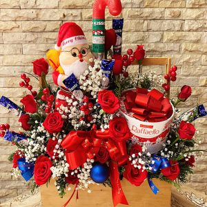 Special Christmas Flowers And Chocolate 01