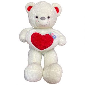 white teddy bear 03